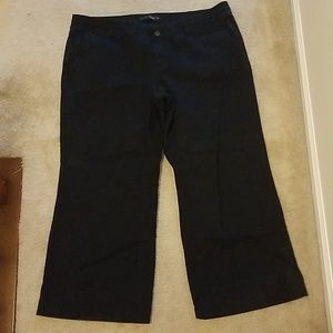 Khaki wide-leg size 20 petitie pants